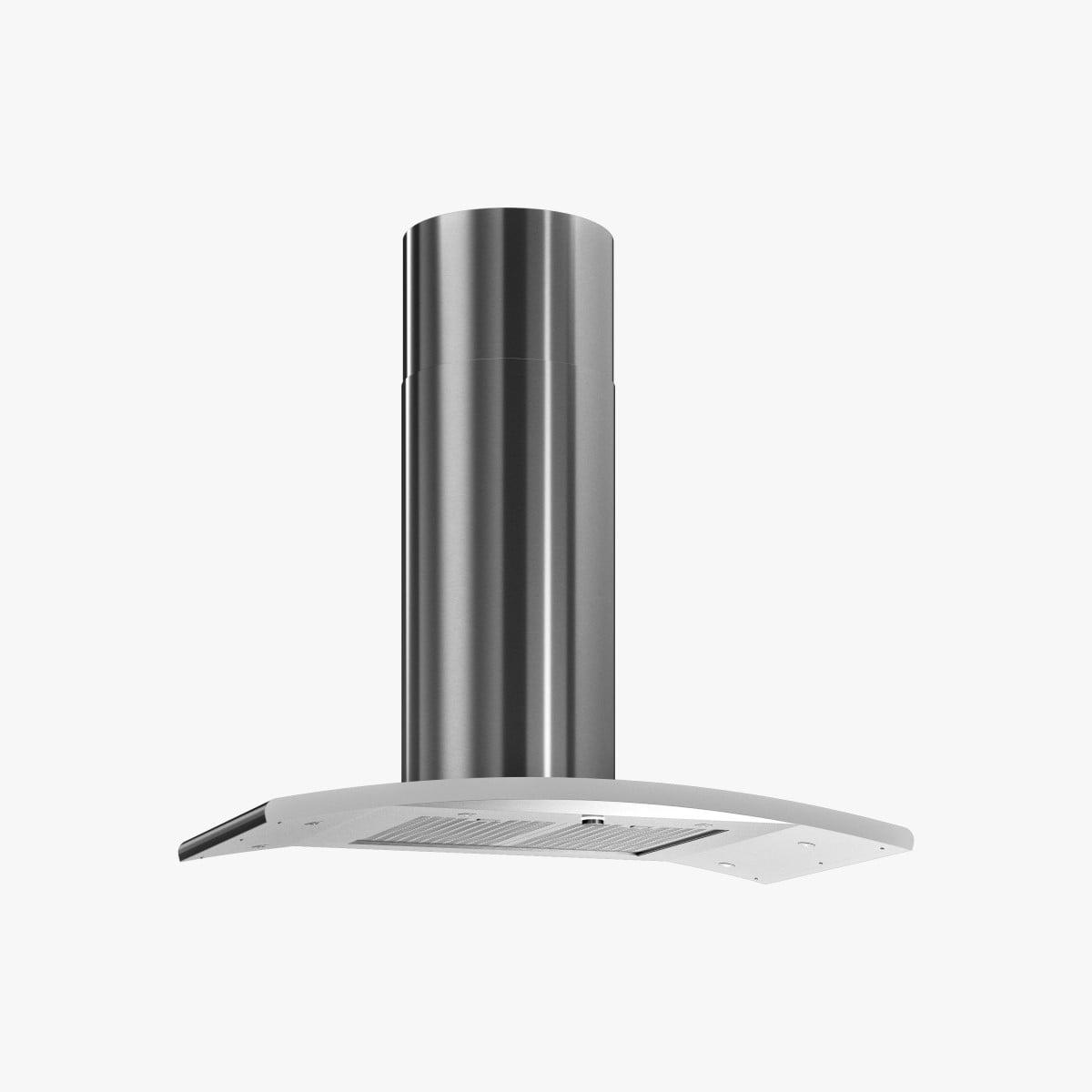 Produktbild på köksfläkten Signum 95 cm i rostfritt utförande.