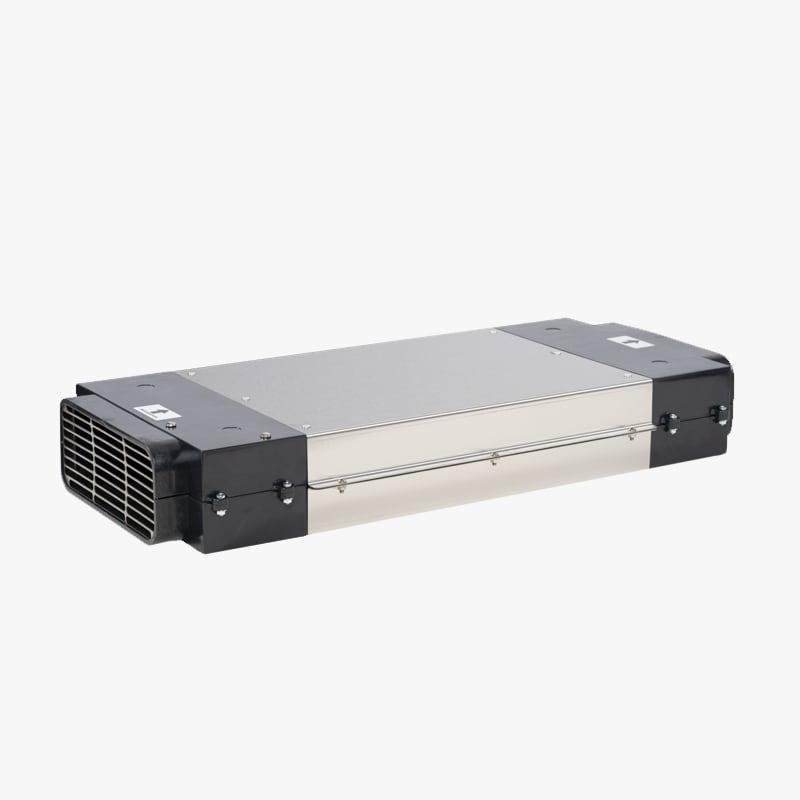 Platt PlasmaClean plasmafilter som används i kombination med platt kanalsystem.