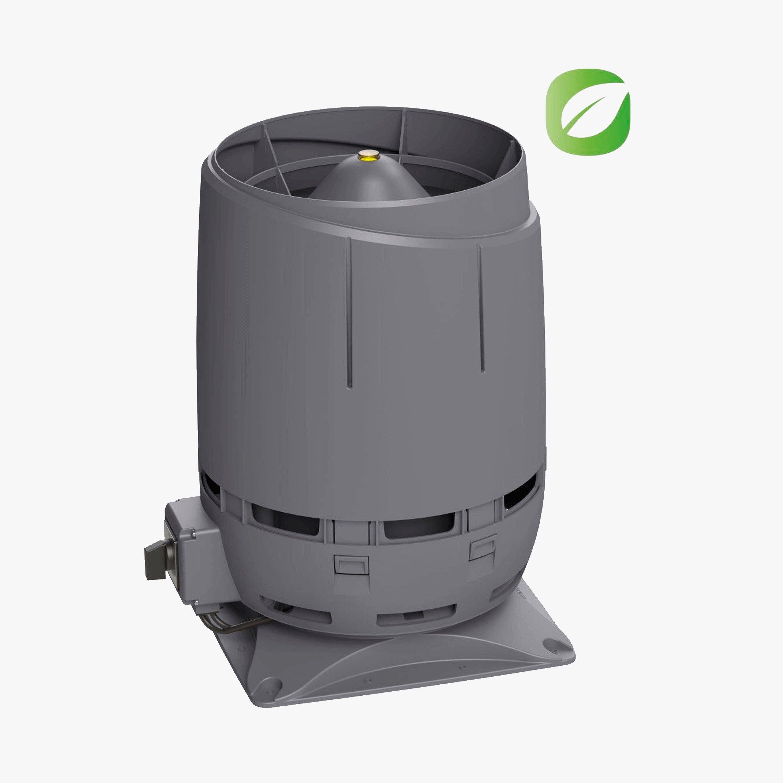 Produktbild på skorstensmotorn Vilpe FKS-ECO1610S i grått utförande.