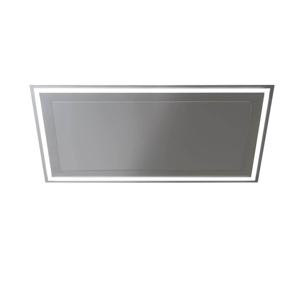 Produktbild på takintegrerade köksfläkten Atrium i rostfritt utförande från Fjäråskupan.
