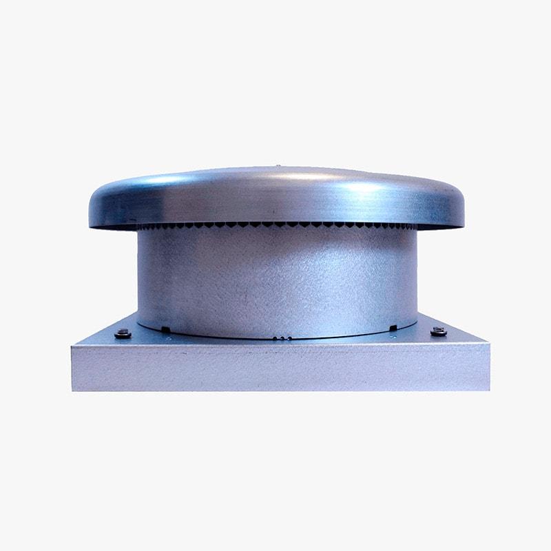 Produktbild på takmotorn FK ECo Flow i galvaniserat utförande.