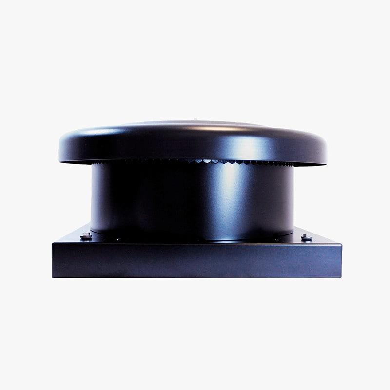 Produktbild på takmotorn FK ECo Flow i svart utförande.